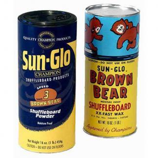 Shuffleboard Table Wax and Powder