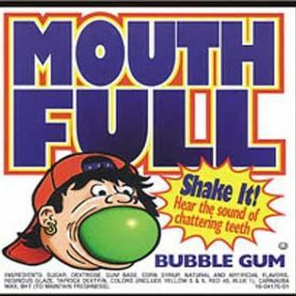 Bulk Large Gumballs 138 Count 2 Inch - Vending Supplies
