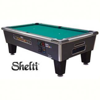 Gold Standard/Shelti Bayside Coin and Bill Operated Pool Tables