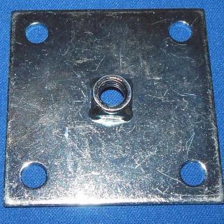 Heavy Duty Leg Leveler Mounting Plate | moneymachines.com