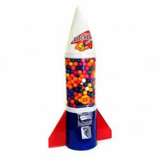 Mighty Mite Rocket Gumball Machines