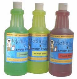 Snow Cone Supplies, Products, Syrup and Cups