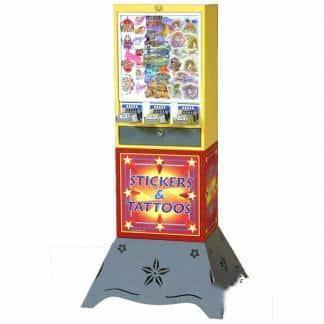 Sticker And Tattoo Vending Machines