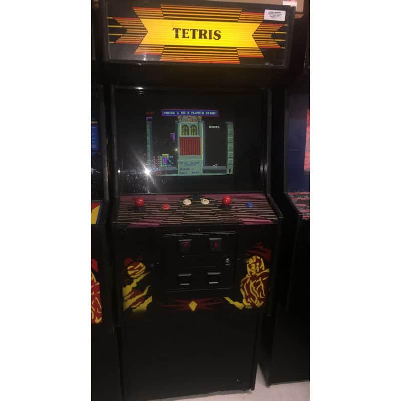 Tetris Video Arcade Game Machine | moneymachines.com