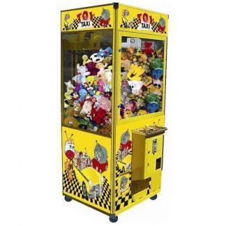 "31"" Toy Taxi Claw Skill Crane Game Machine 