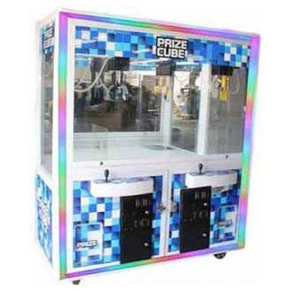 "60"" Prize Cube Light Changing Crane Skill Claw Machine 
