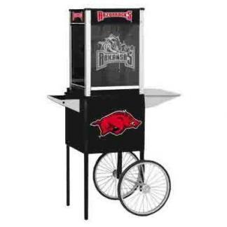 Arkansas NCAA College Logo Popcorn Machine   moneymachines.com