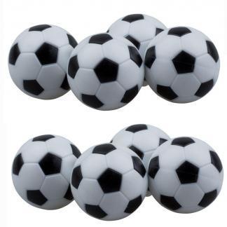 Foosball Table Checkered Soccer Balls - Set of 8 | moneymachines.com