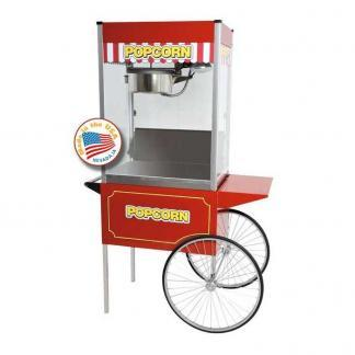 Classic Pop 16 Ounce Popcorn Machine With Large Cart Combo | moneymachines.com