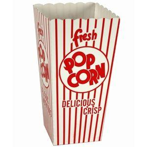 Classic Popcorn Scoop Box - Small (.79 oz) | moneymachines.com
