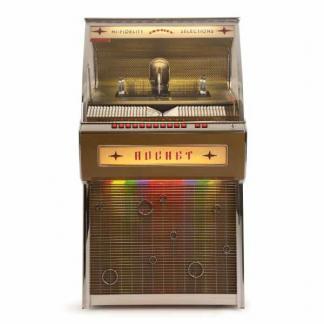 Crosley CR1207A-OA Rocket 80 CD Bluetooth Full-Size Jukebox | moneymachines.com