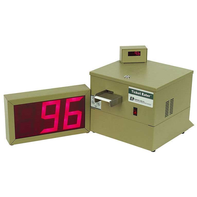 Deltronic Labs DL5000 Table Top Ticket Eater/Counter With Large Digit Display | moneymachines.com