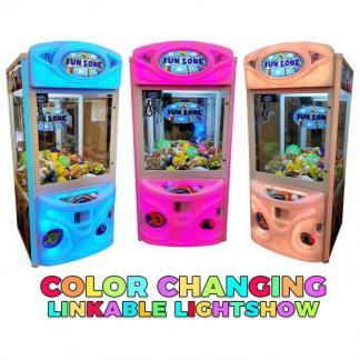 Fun Zone Color Changing Crane Claw Machines