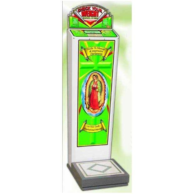 Guadalupe Coin Operated Weight Scale | moneymachines.com