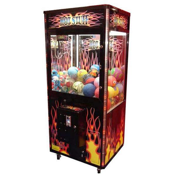 Hot Stuff Claw Skill Crane Game Machines | moneymachines.com