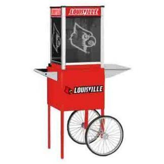 Louisville NCAA College Logo Popcorn Machine | moneymachines.com