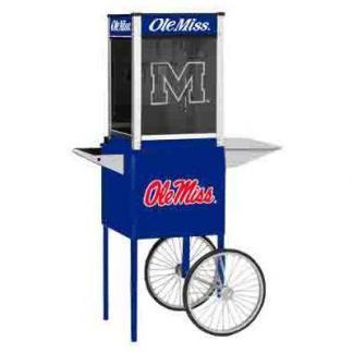 Ole Miss NCAA College Logo Popcorn Machine | moneymachines.com