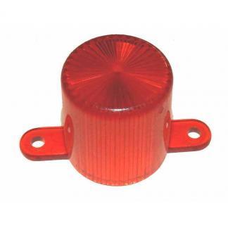 Orange Light Dome With Screw Mounting Tabs | moneymachines.com