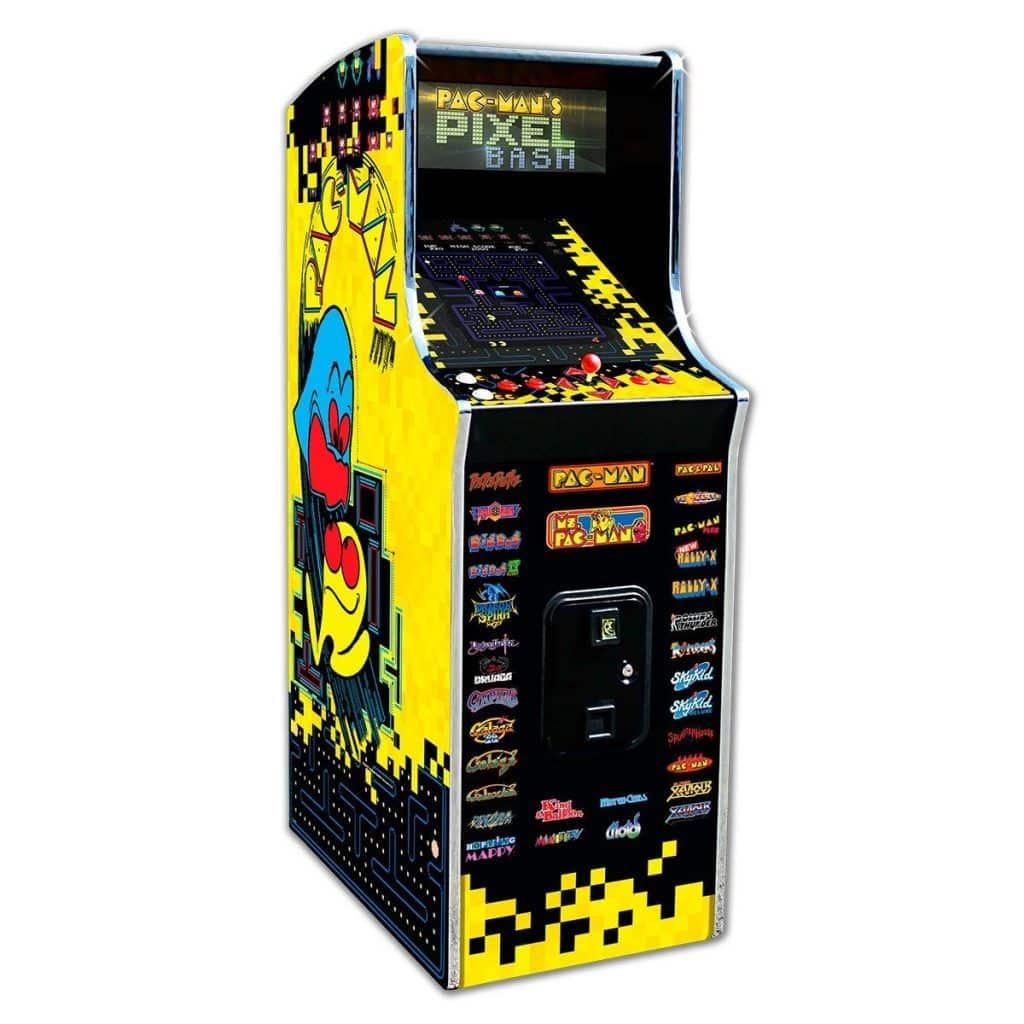 Pacman's Pixel Bash Cabaret Arcade - Home Version | moneymachines.com