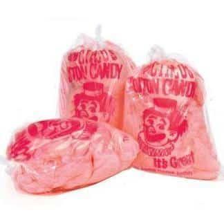 Paragon Cotton Candy Serving Cones & Plastic Bag Supplies