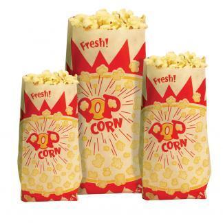 Paragon Popcorn Bags - Medium 1.5 oz. | moneymachines.com
