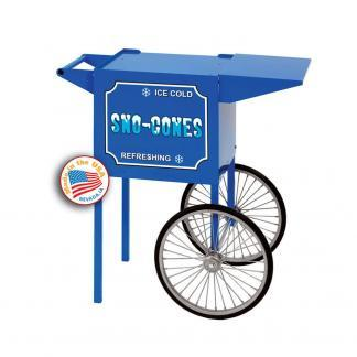 Paragon Small Blue Snow Cone Cart   moneymachines.com