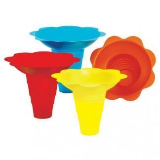 Paragon Snow Cone Flower Drip Trays 12 Ounce | moneymachines.com