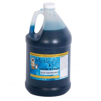 Motla Snow Cone Syrup - Blue Raspberry (1 Gallon) | moneymachines.com