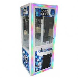 Prize Cube Light Changing Crane Skill Claw Machines