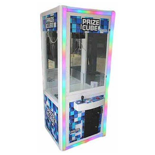 Prize Cube Light Changing Crane Skill Claw Machines | moneymachines.com