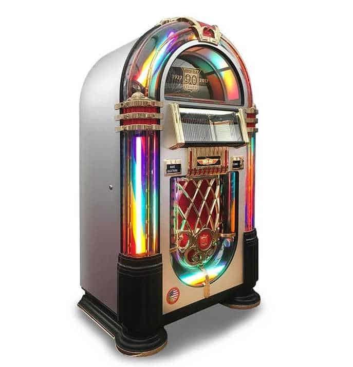 Rock-Ola 90th Anniversary CD Bubbler Jukebox | moneymachines.com