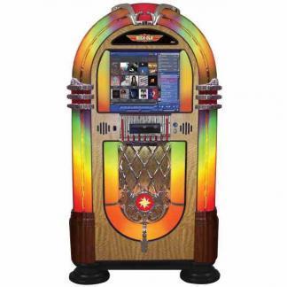Rock-Ola Bubbler Digital Jukebox Walnut   moneymachines.com