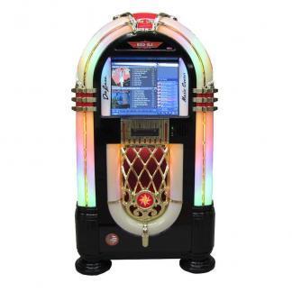 Rock-Ola Bubbler MC (Music Center) Digital Jukebox   Black Finish   moneymachines.com