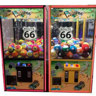 Route 66 Nostalgic Crane Game Machines