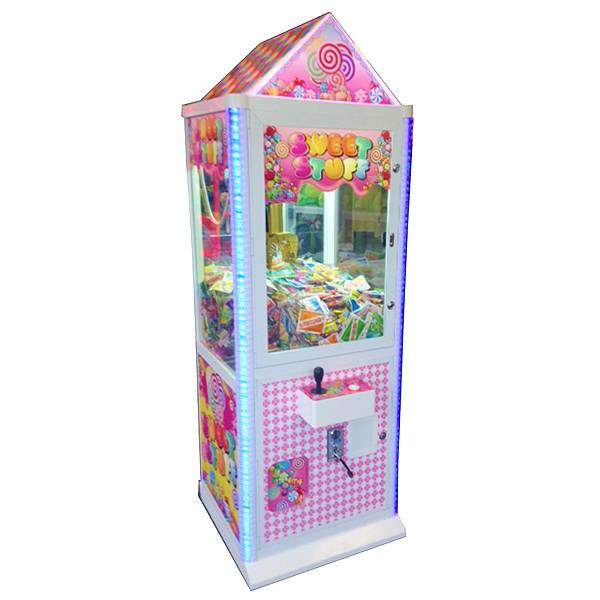 Sweet Stuff Candy Crane Machine | moneymachines.com