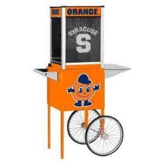 Syracuse NCAA College Logo Popcorn Machine   moneymachines.com