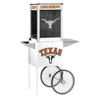 Texas NCAA College Logo Popcorn Machine | moneymachines.com