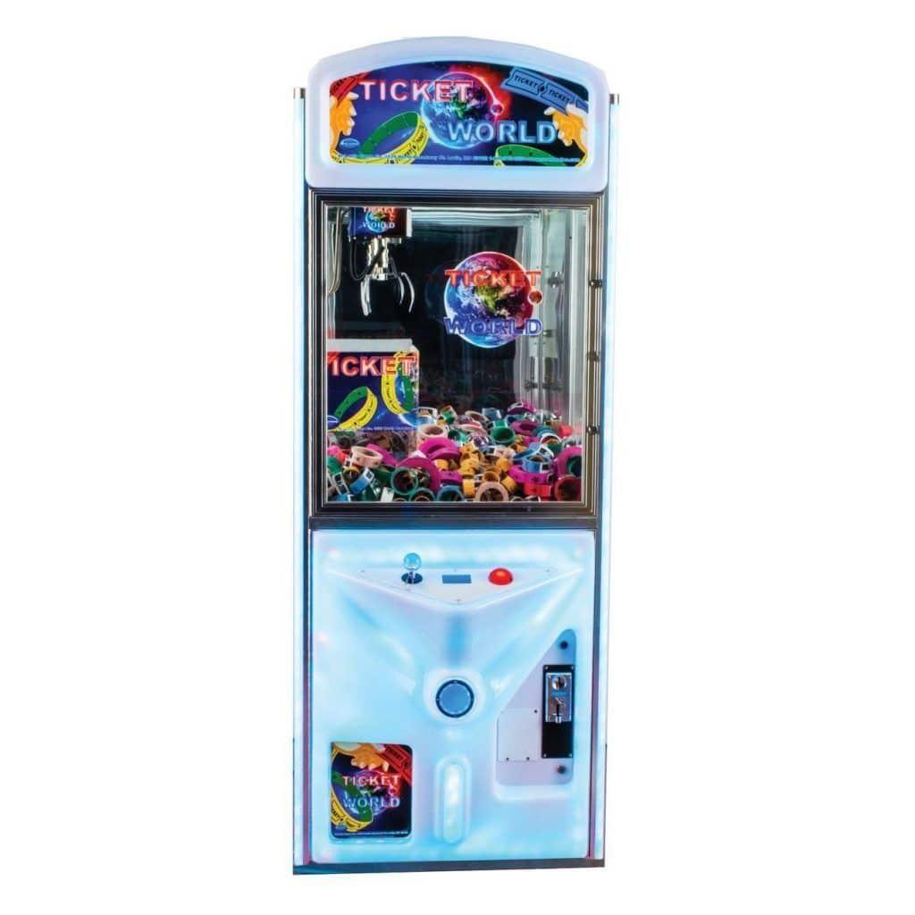 Ticket World Ticket Vending Crane Machine   moneymachines.com