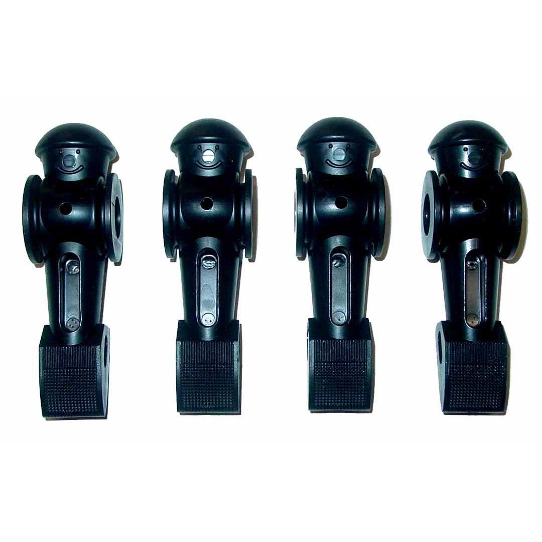 6 Tornado Foosball Men Counter Balanced Roll Pin