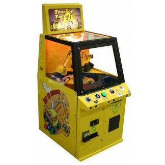 Tractor Time Crane Game Machine