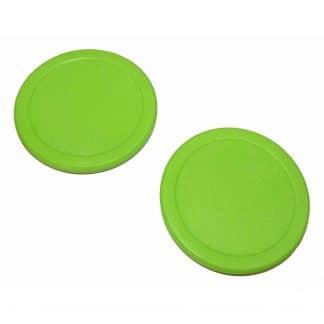 "2 2 1/2"" green Dynamo pucks   moneymachines.com"