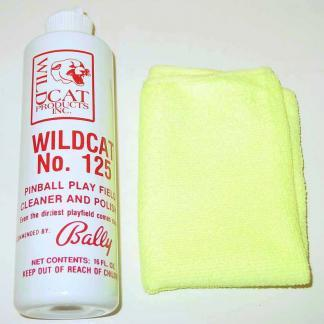 Wildcat 125 Cleaner Polish and Cloth