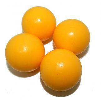 Smooth Yellow Foosball Table Balls   moneymachines.com