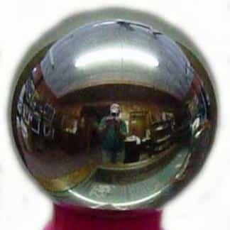 "3/4"" Chrome Plated Steel Ball | moneymachines.com"