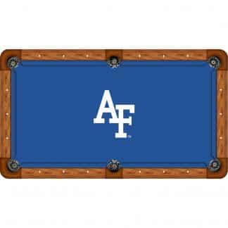 Air Force On Blue Billiard Table Cloth | moneymachines.com