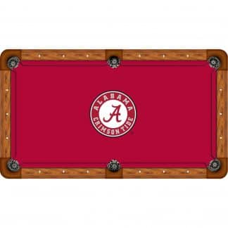 Alabama Crimson Tide Billiard Table Cloth | moneymachines.com