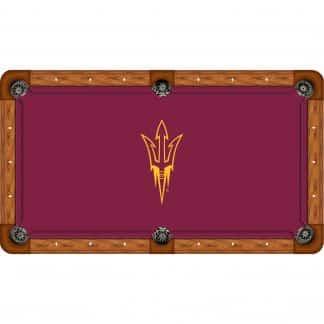 Arizona State Sun Devils Billiard Table Cloth | moneymachines.com