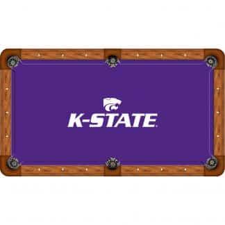Kansas State Wildcats Billiard Table Cloth | moneymachines.com