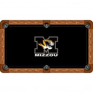 Missouri Mizzou Tigers Billiard Table Cloth   moneymachines.com