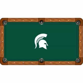 Michigan State Spartans Billiard Table Cloth | moneymachiines.com